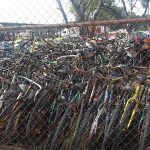 """Bicicletas """"chatarra"""" inundan Pensión Municipal de Irapuato"""