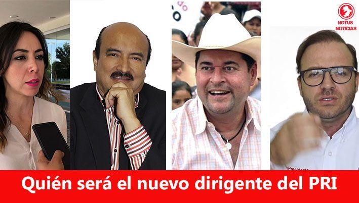Aspirantes a la dirigencia del PRI en Guanajuato