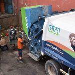 disminuyen reportes  por servicio de recolección de basura