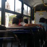 Circular con puertas abiertas y pasarse altos, principales multas para transportistas