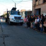 Dan banderazo a trabajos de rehabilitación de alumbrado público en Cuerámaro