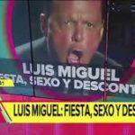 Por una noche de sexo, drogas y alcohol, estuvo a punto de morir Luis Miguel