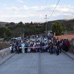 Inauguran 2da. etapa de la Calle Principal en El Volantín