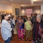 Adultos mayores visitan museos en Abasolo