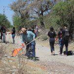 Ayuntamiento se une a grupo juvenil de la comunidad de Joroches; reto #BasuraChallenge