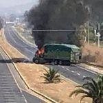 Arde Guanajuato otra vez en llamas; nuevos bloqueos y quema de vehículos