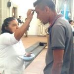 Irapuatenses acuden al Miércoles de Ceniza