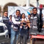 Tiene Huanímaro camión de bomberos y ambulancia