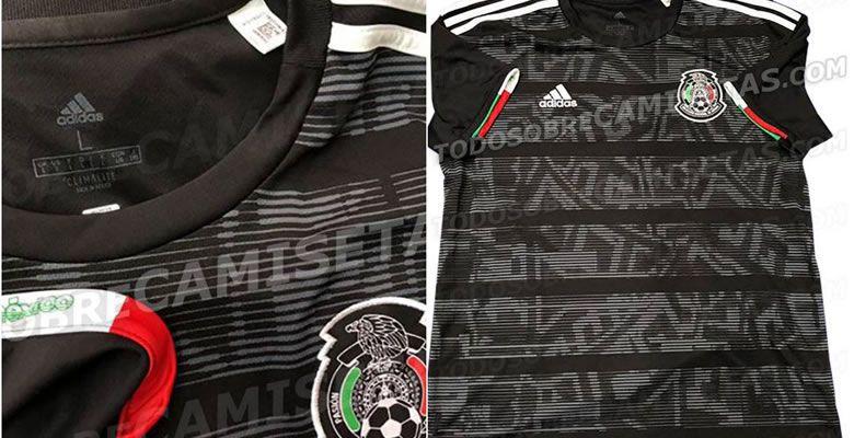 d1dda41d32486 México.- La selección Mexicana presentó este martes el nuevo jersey con un  diseño inspirado en el icono balón Azteca