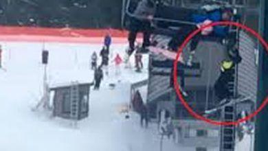 Photo of Adolescentes rescatan a niño que quedó colgado de un telesilla de 6 metros de altura