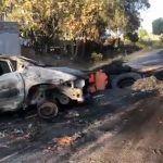 Santa Rosa de Lima, bloqueos, lesionados, casas dañadas, sobrevuelo de helicópteros: El Marro