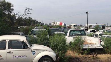 Photo of Vehículos oficiales en la pensión de Irapuato; Son inservibles