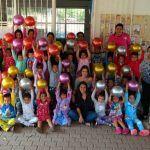Entregan más de 5 mil pelotas a niñas y niños de Cuerámaro