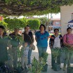 Conmemora Cuerámaro el Día Mundial de la Tierra: ciudadanos adoptan árboles