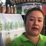 Maribel, artesana salmantina que elabora productos a base de nopal