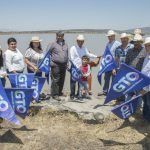 Entregan modernización y tecnificación de la zona de riego en Presa La Yesca