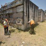 Mejoran imagen de Panteón Municipal