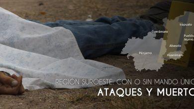 Photo of Región Suroeste: Con o sin Mando Único, ataques y muertos