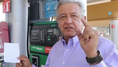 "Photo of Exhibe AMLO a gasolineras más ""careras"""