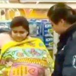 Finge cargar un bebé para robar supermercado en la CDMX