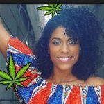 Ella es Kayla Gerber, gana $18,750 al mes por ¡fumar mariguana!