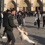 Esta fotografía de Notre Dame justo antes del incendio se hace viral