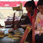 """Las """"tortillas de nopal y pencas de Juanita"""" de Valtierrilla"""