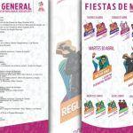 """Así se vivirán las """"Fiestas de Mayo 2019"""" en Manuel Doblado"""
