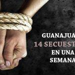 En Guanajuato fueron secuestradas 14 personas en una semana