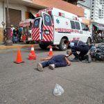 Realizan simulacro de accidente vial en Cuerámaro
