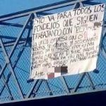 """Dejan narco manta en Celaya contra """"El Marro"""""""