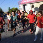 Corren 4.2 Km. en Estación Joaquín