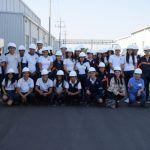 Alumnos de SABES visitan empresa del Parque Industrial MARABIS