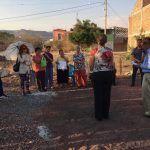 Vecinos de la calle Juan Rulfo hablan de la mejora de los servicios