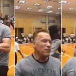 Ni patada voladora derriba a Arnold ( video)