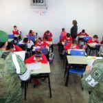 Impulsan SEG y Policía Militar Proximidad Social en Escuelas de la Región
