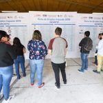 Realizan Feria del Empleo y Servicios 2019