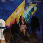 Ofrece conferencia en la UG, Vanessa Ponce de León, Miss Mundo 2018