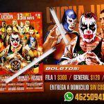 Generación XXI presenta gran cartelera de lucha libre