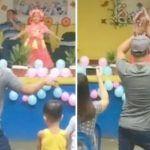 La increíble reacción de un padre ante el ataque de pánico de su hija