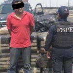 Detienen a hombre con más de una tonelada de marihuana en Villagrán