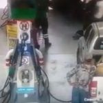Flamazo en gasolinera quema a niña y padre en Querétaro