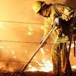 Incendio consume vivienda en Pénjamo
