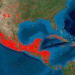 La NASA muestra vía satélite los incendios de México y la contaminación que generan