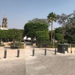 A días de que se inaugure la Plaza principal