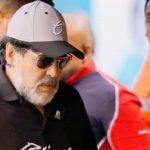 Jugadores de Atlético San Luis cantan contra Maradona