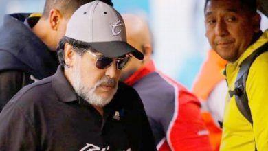 Photo of Jugadores de Atlético San Luis cantan contra Maradona
