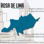 Santa Rosa de Lima: una comunidad insegura, violenta y con adicciones
