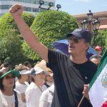 Fox participa en marcha anti AMLO en Guanajuato