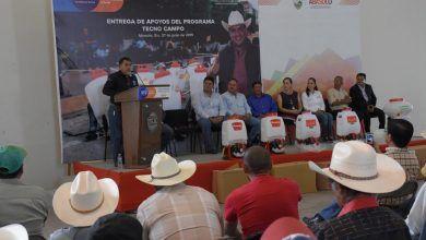 Photo of Samuel Cruz entrega 140 Aspersoras Motorizadas